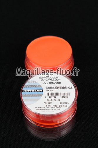 Supracolor fard gras fluo 8g ORANGE