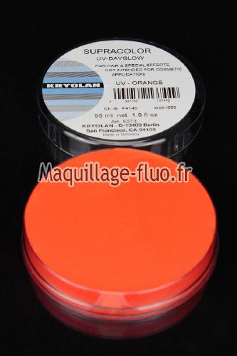 Supracolor fard gras fluo 55g ORANGE