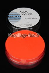 Fard à l'eau Aquacolor fluo 55g ORANGE