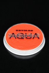 Fard à l'eau Aquacolor fluo 15g ORANGE