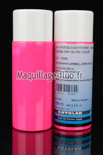 Fard liquide fluorescent 100ml ROSE