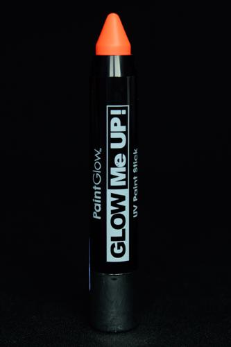 Crayon maquillage orange UV fluo large